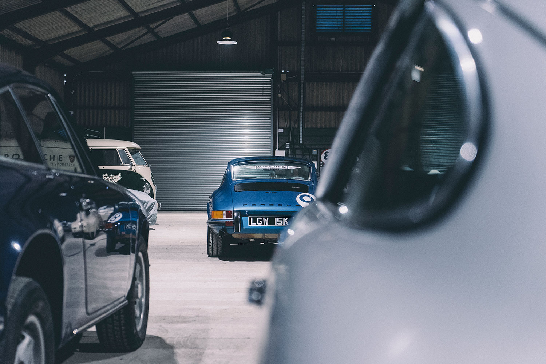 Classic Car Storage - Auto Classica Storage Ltd - The Blue Pearl
