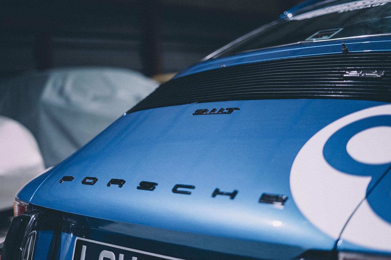 The Blue Pearl - Porsche Decals - 1972 Porsche 911T