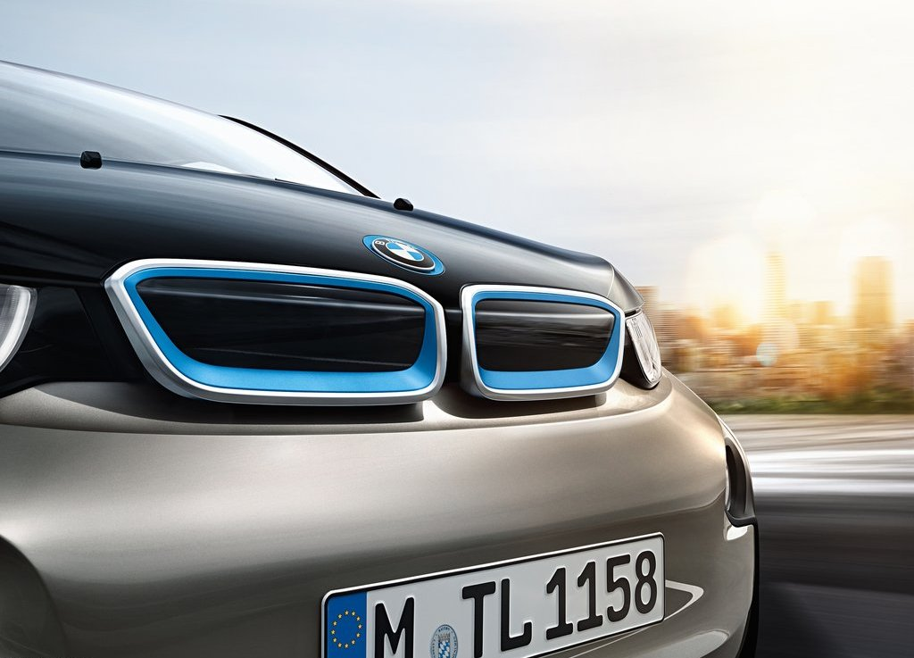 2014 BMW i3 front grille