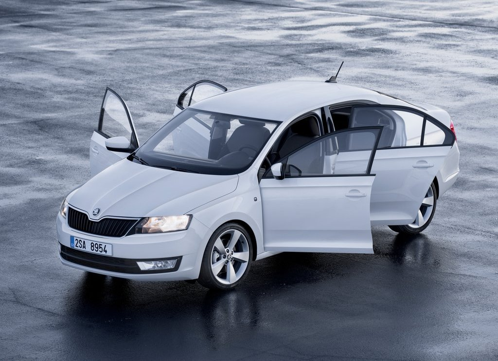 2014 Skoda Rapid facelift
