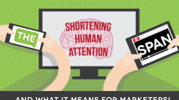 The Shortening Human Attention Span and What it Means for Marketers