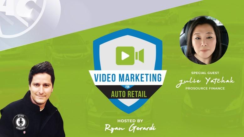 Video Hacks for Automotive F&I - Julie Yatchak