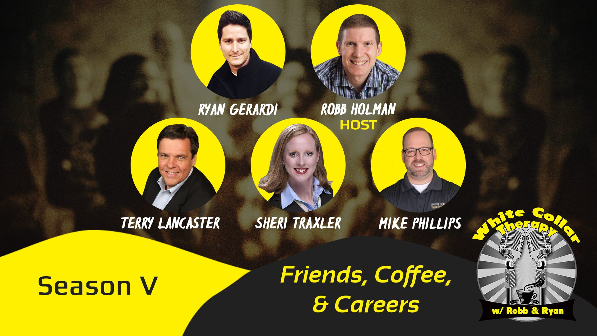 White Collar Therapy - Friends, Coffee, & Careers