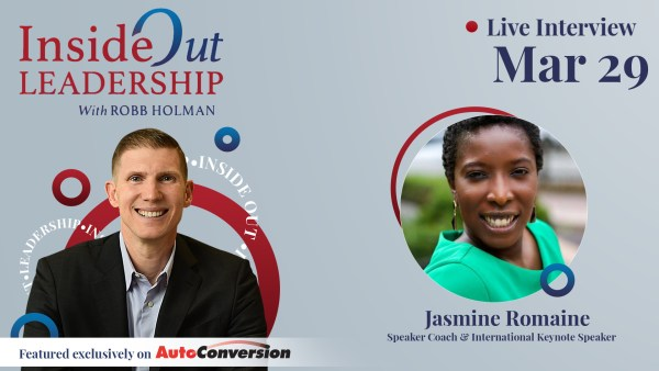 Robb Holman Interviews Jasmine Romaine on the Inside Out Leadership Podcast