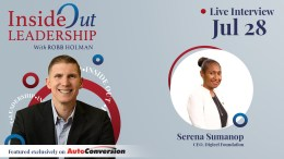 Serena Sumanop on the Inside Out Leadership Show and Podcast w/ Robb Holman