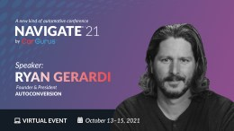 Ryan Gerardi Speaking at CarGurus Navigate 21