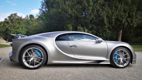 Bugatti Chiron Sport - costado
