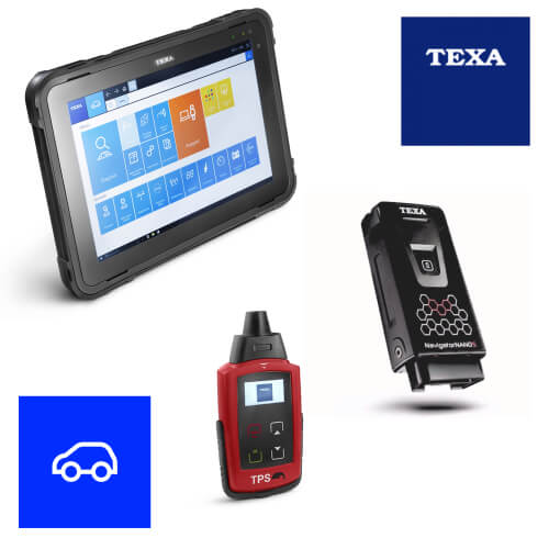 Texa Car Propack