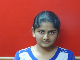 Vidhi Sharma 9th std (Kothari Convent) 1st rank