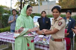 Hamida Madam awarded by JCI as well educated woman (2)