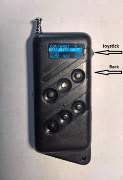 Self-learning remote control with frequency adjustable NEW MODEL
