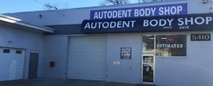 Auto Dent Care shop front