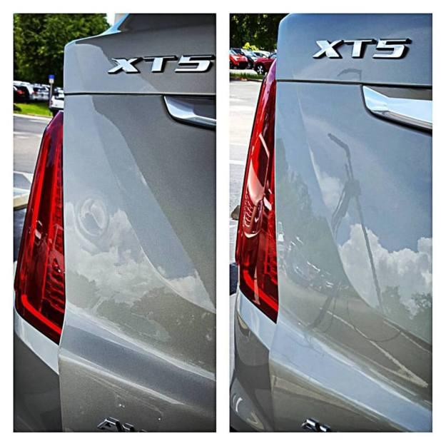Cadillac XT5 Dent repair
