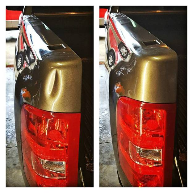 Truck Dent Removal
