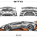 Lamborghini Huracan Sto From Track To Road Design Gallery Auto Design