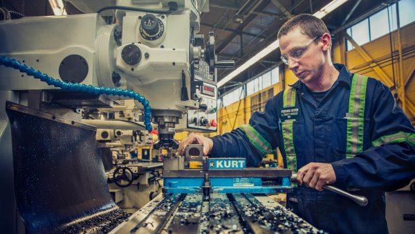 Manual mill machinist CNC operator