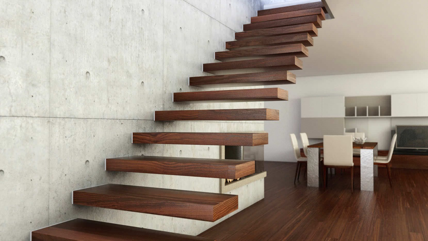 Solved: Floating Stairs