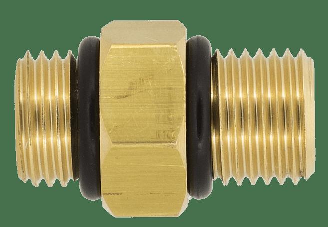 Thread adaptor G 1/4 male to G 1/4 male