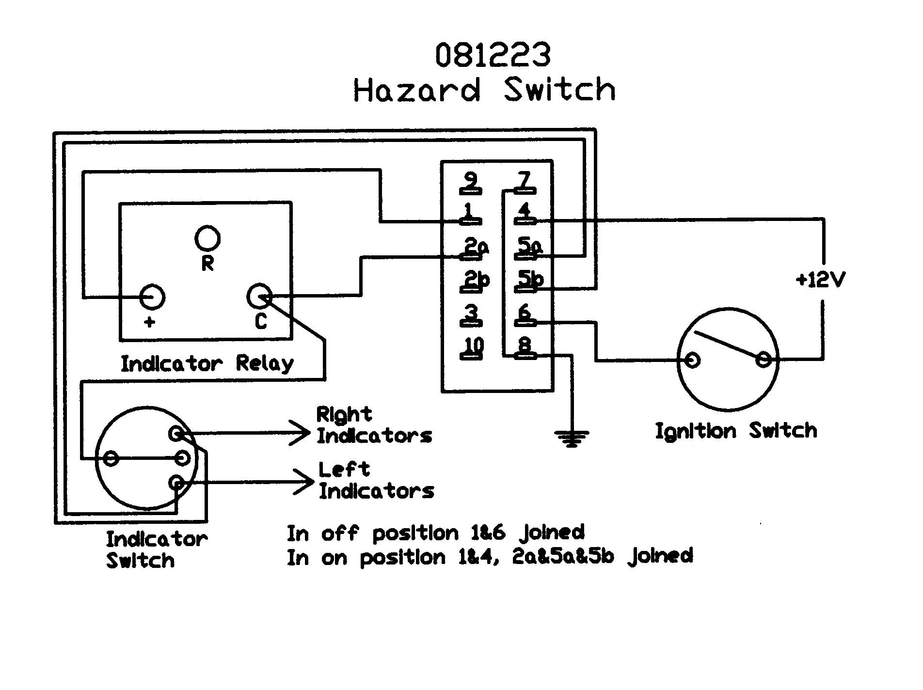 Wiring Diagram For Lucas Ignition Switch