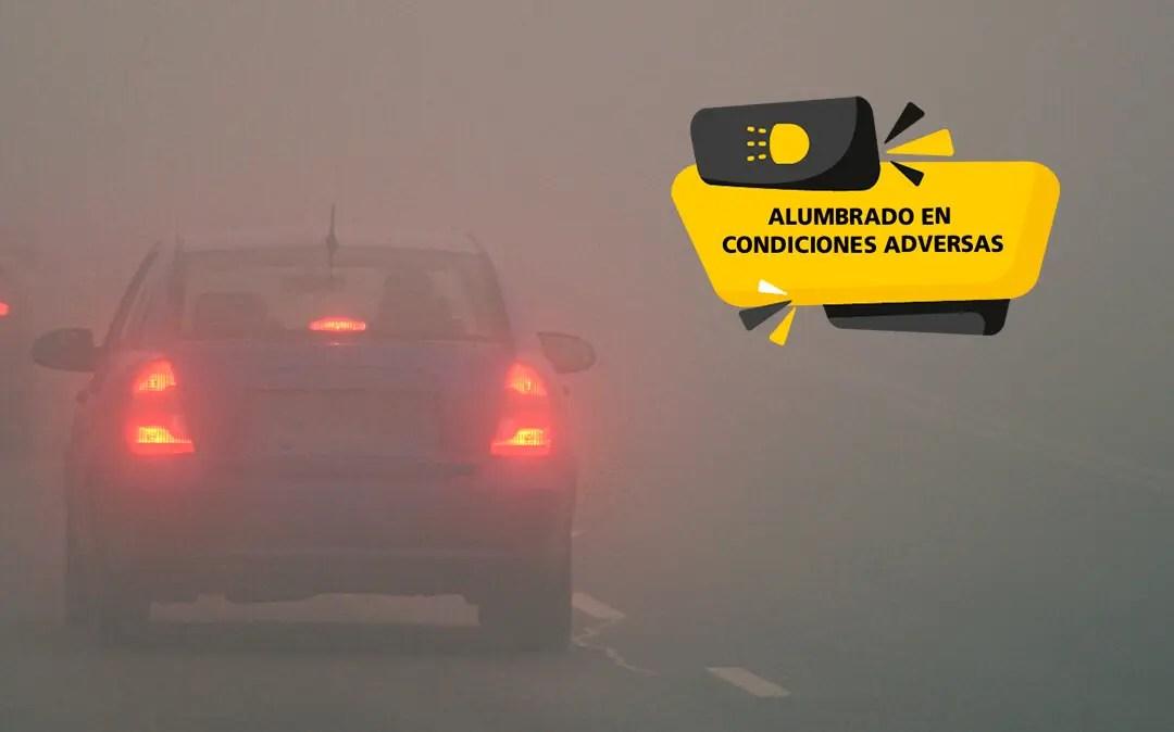 Alumbrado del vehículo en condiciones adversas