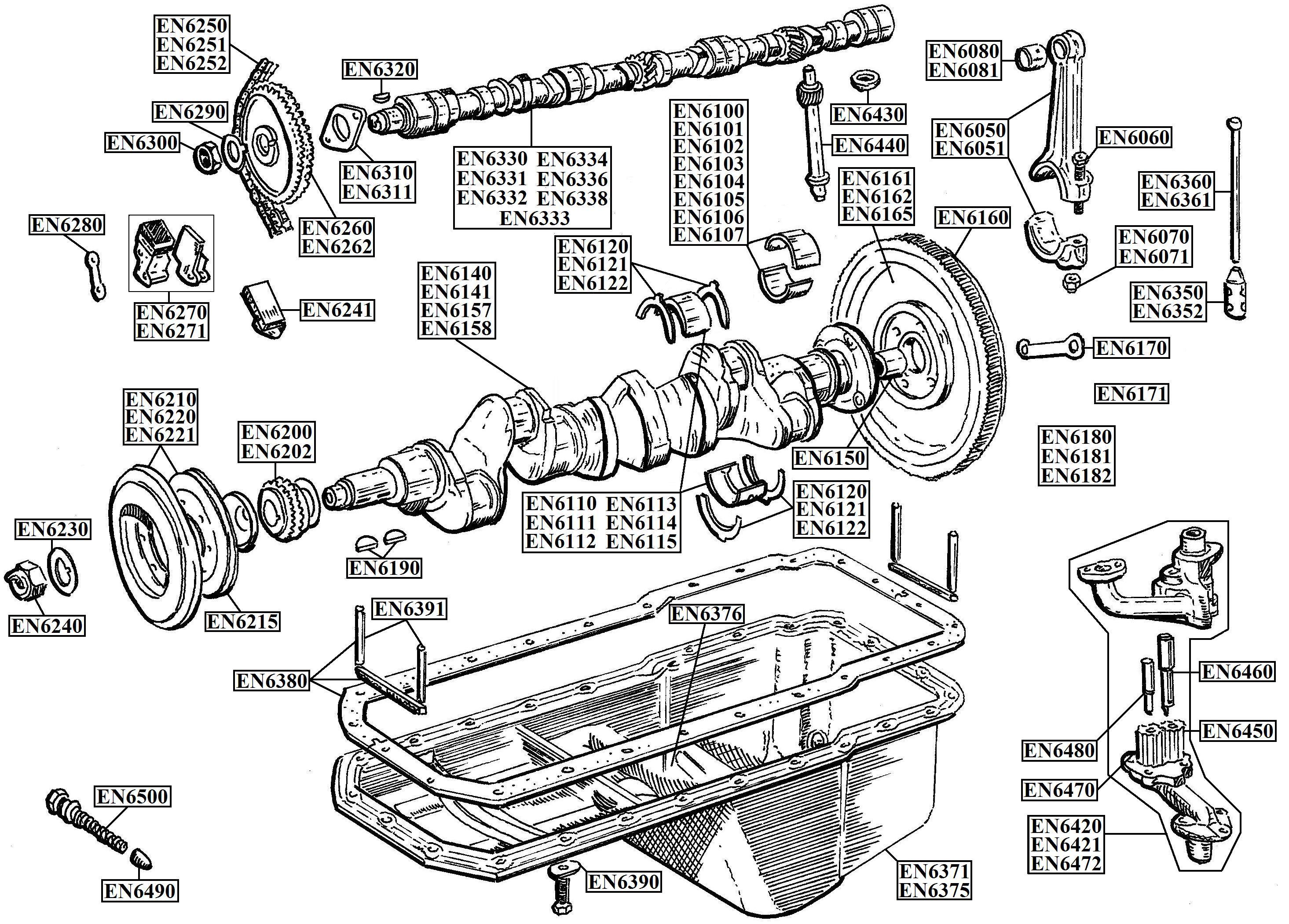 Inline 6 Cylinder Engine