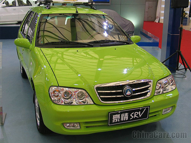 Geely HQ SRV