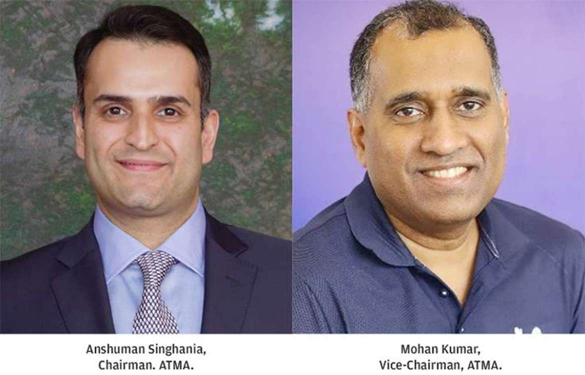 ATMA elects Anshuman Singhania as Chairman, Mohan Kumar as Vice-Chairman