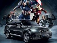 "Audi SQ7 pojavljuje se u Marvelovom filmu ""Kapetan Amerika: Građanski rat"""