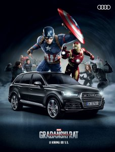 Marvel Audi