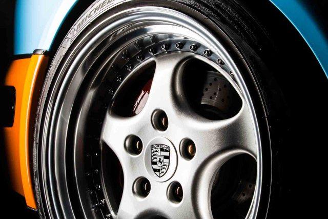 PORSCHE 964 RS 3.8, Detailansicht Vorderrad links, Stephan Hensel, Autofotograf, Hamburg