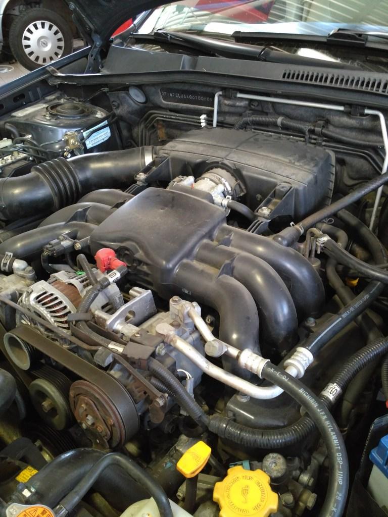 Nagy teljesítményű autók átalakítása - Subaru Legacy/Outback LPG átalakítása