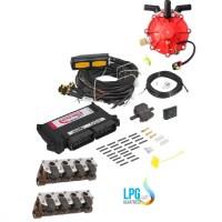 LPG üzemű direkt injektoros benzinmotorok (FSI TFSI DISI)