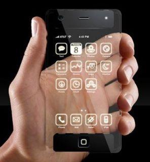 В Apple придумали прозрачный телефон для пешеходов