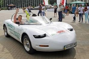 Электромобили финишировали в Сочи