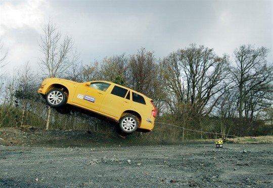 Volvo XC90 crash test