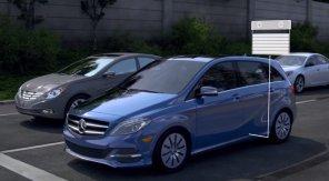 Как работает рекуперация в электромобиле Mercedes B-Class