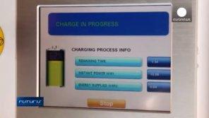 В Испании появилась станция беспроводной зарядки электромобилей