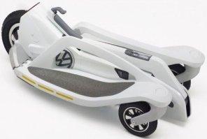 Переносной электроскутер Volkswagen с запасом хода 19 км
