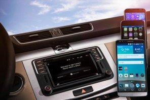 "Автомобили Volkswagen ""породнились"" с Apple CarPlay и Android"
