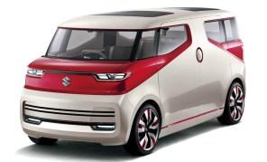 Suzuki показала бензин-электрический пикап и гибридный  микровэн