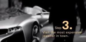 BMW i8: Как ограбить ювелирный магазин за 10 шагов