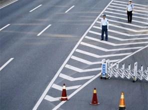 В Китае построили скоростную дорогу из отходов