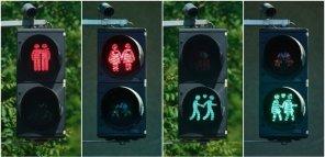 """В австрийском Линце демонтируют """"светофоры для геев"""""""