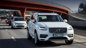 На дороги Китая выйдет сотня автономных Volvo