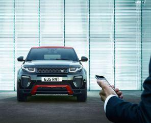 Range Rover Evoque получил 10,2-дюймовый сенсорный дисплей