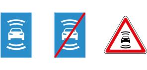 Тесты беспилотных КамАЗов не начнут, пока не придумают предупреждающие знаки
