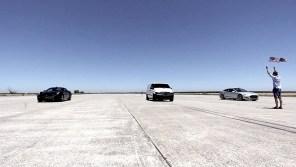 900-сильный электрофургон померился силами с Tesla и Ferrari