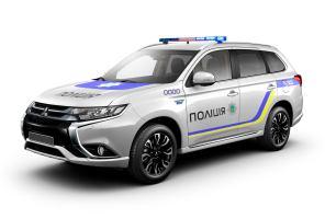 Полицейский подзаряжаемый гибрид Mitsubishi