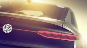 Интрига: Volkswagen опубликовал видеотизер нового электрического кроссовера