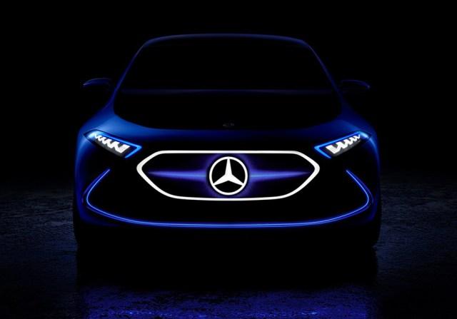 Mercedes готов выйти на рынок с компактным электромобилем. Первое фото